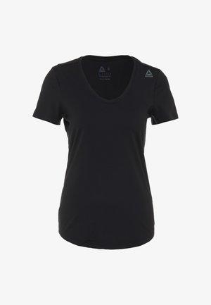 TEE - T-shirt basic - black