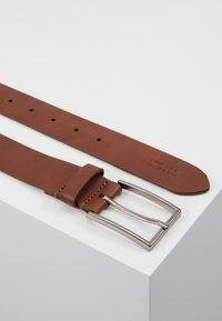 Zign - UNISEX LEATHER - Belt - tan - 2