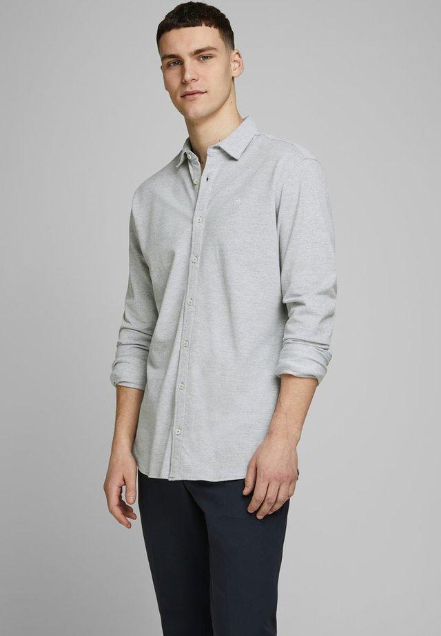 HEMD SLIM FIT - Camisa - light grey melange