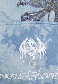 NEW girl ORDER - DRAGON TIE DYE HOODY - Sweatshirt - blue - 2
