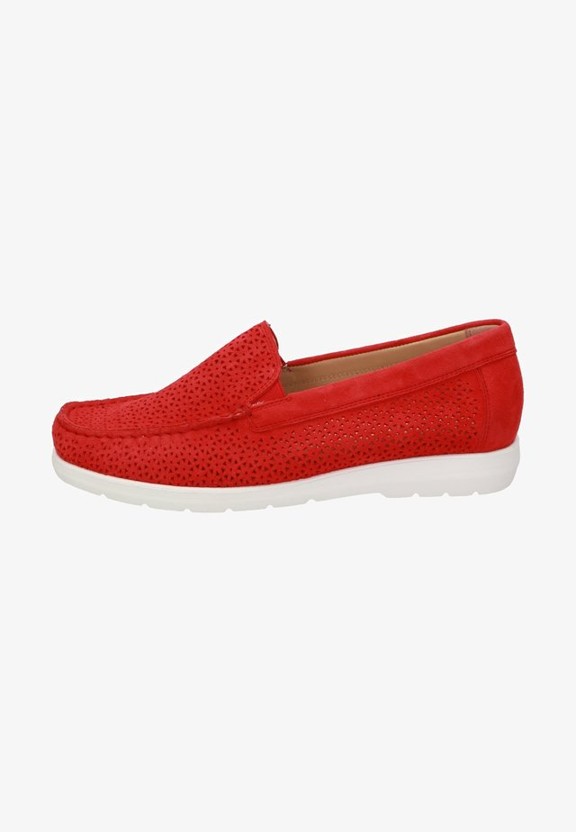 SLIPPER CORTIZIA - Slip-ons - red