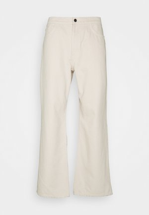 WIDE LEG - Jeans Relaxed Fit - off white