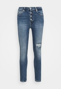 Calvin Klein Jeans - HIGH RISE SKINNY - Skinny džíny - denim medium - 6