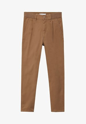 MASSIMO7 - Trousers - open beige