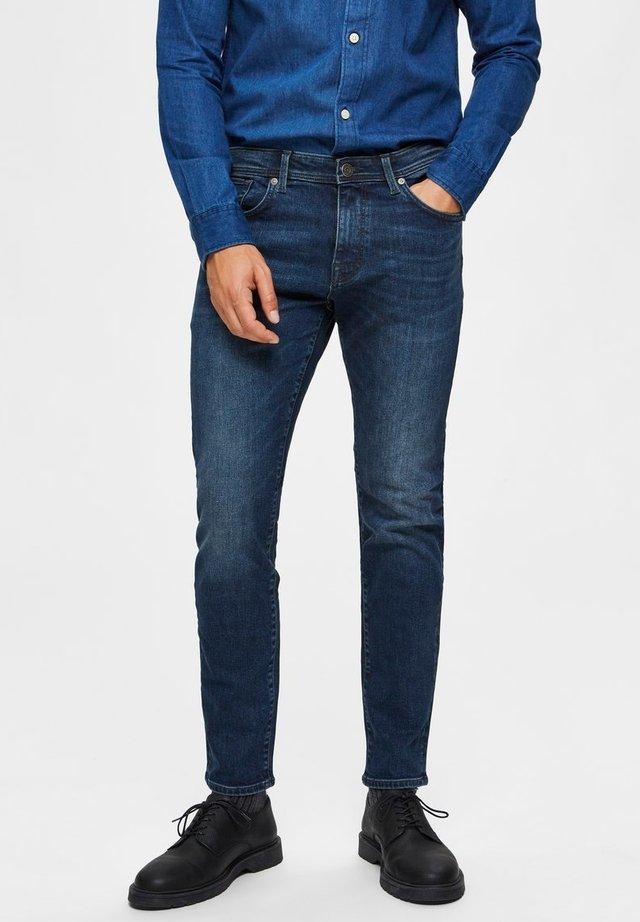 Jeans slim fit - medium blue denim