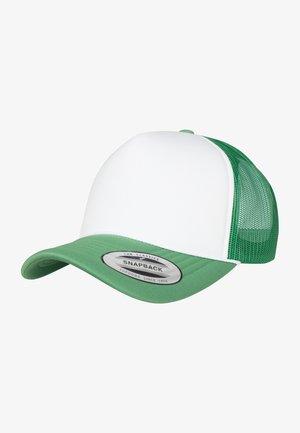 Kšiltovka - green/ white