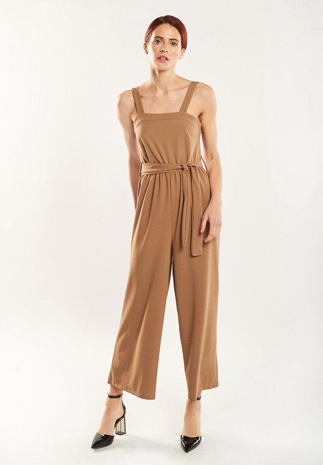 LARA - Jumpsuit - light brown