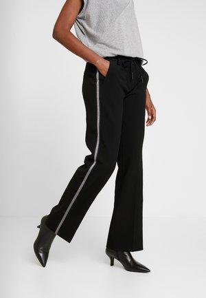 MARLEEN - Trousers - black