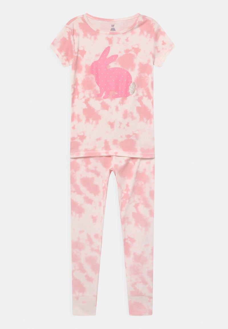 GAP - GIRL TIE DYE BUNNY  - Pyjama set - multi-coloured