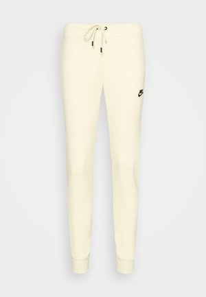 Tracksuit bottoms - coconut milk/black