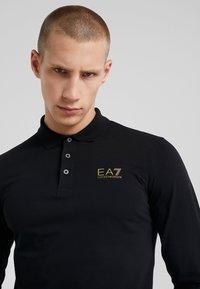 EA7 Emporio Armani - Koszulka polo - black - 4