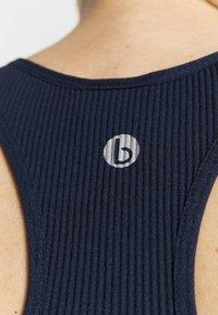 Cotton On Body - SEAMLESS HALTER RACER BACK TANK - Top - navy - 4