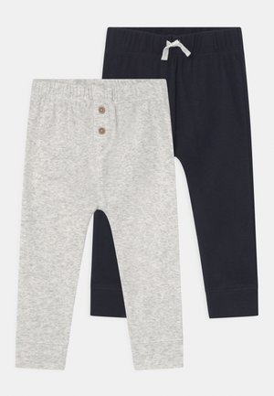 2 PACK - Trousers - dark blue/grey