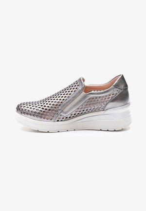 Mocasines - silver
