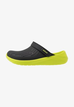 LITERIDE - Clogs - black/lime punch