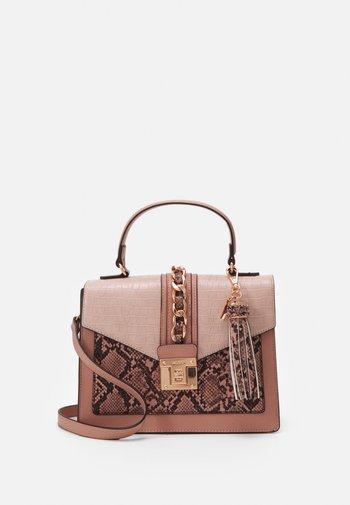 GLENDAA - Handbag - blush combo/rose gold