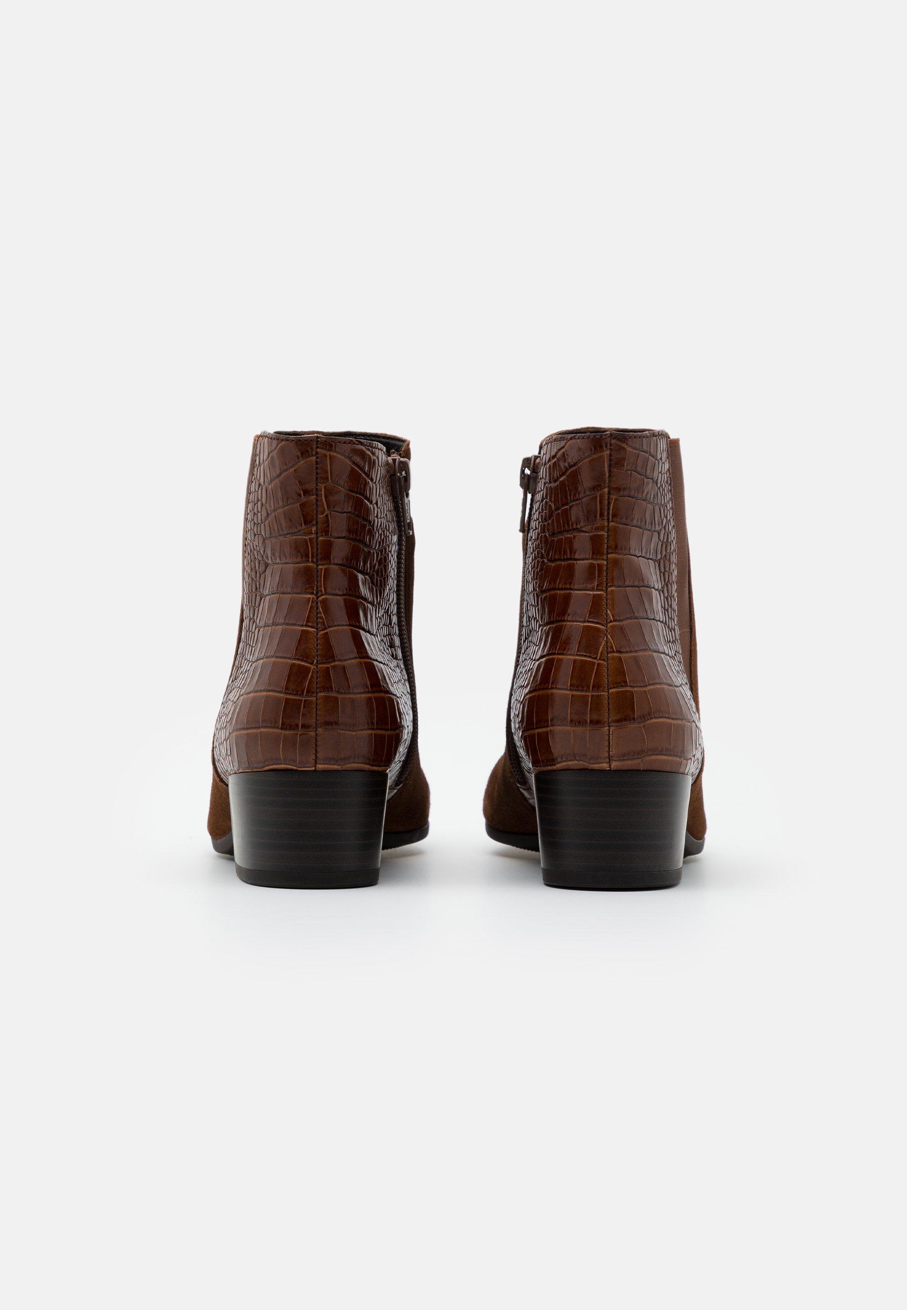 Gabor Comfort Korte laarzen whiskyCognac Zalando.nl