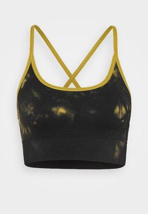 TIE DYE SEAMLESS BRA - Sports bra - golden olive