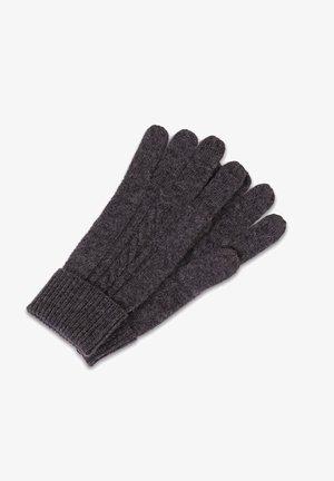 Fingerhandschuh - anthrazit