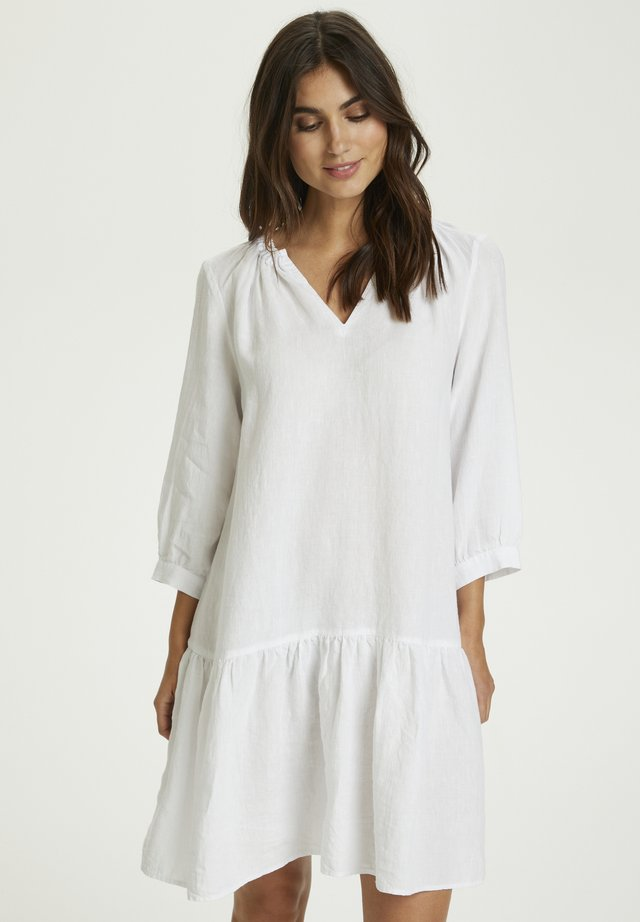CHANIA - Day dress - bright white
