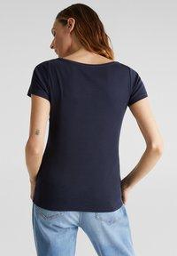 Esprit - NOOS CORE OCS  - Print T-shirt - navy - 2