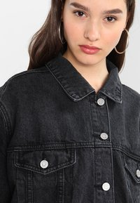 Missguided - OVERSIZED JACKET - Cowboyjakker - black - 6
