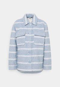 BOUCLE JACKET - Summer jacket - mid blue/white