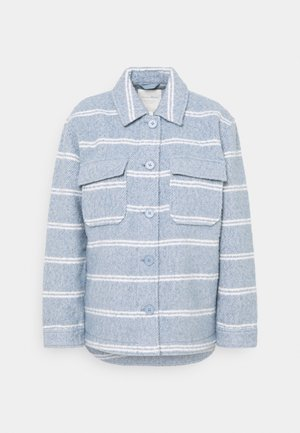 BOUCLE JACKET - Summer jacket - mid blue/white