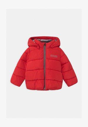 NMMMILTON PUFFER - Winter jacket - tango red