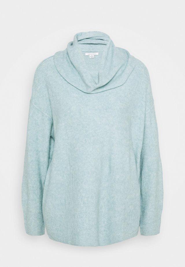 HI LO COWL - Sweter - mint