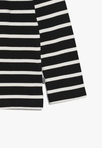 Mads Nørgaard - PABLO TASHINO  - Long sleeved top - black/white alyssum - 3