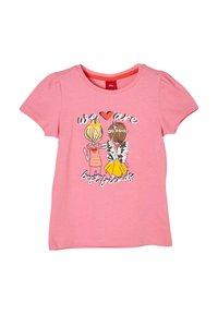 s.Oliver - Print T-shirt - pink - 2