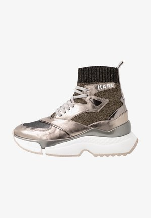 AVENTUR SIEGE MID  - High-top trainers - silver