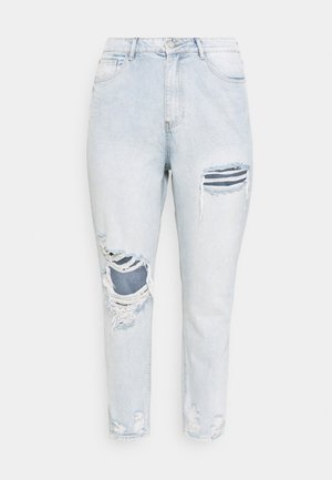 RIOT THIGH SLASH MOM LIGHTWASH - Relaxed fit jeans - blue
