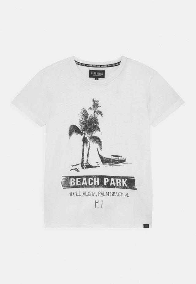 SEADOR - T-shirt print - white