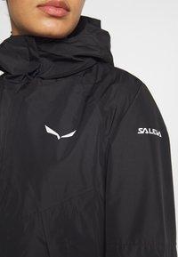 Salewa - PUEZ - Hardshell-jakke - black out - 4