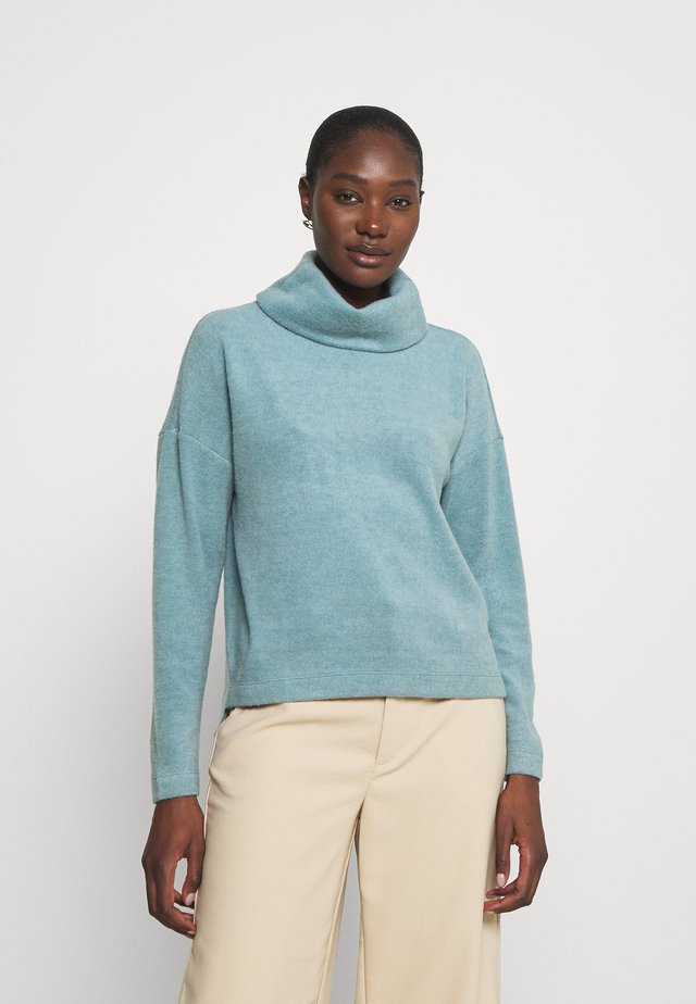 TURTLENECK - Sweter - grey blue
