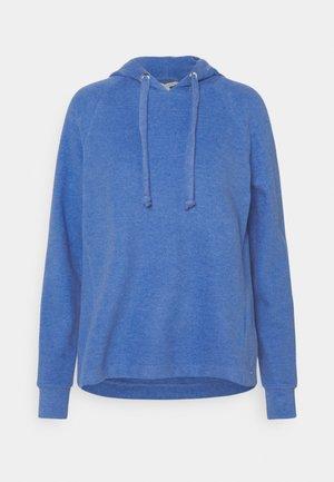 BRUSHED HOODIE - Felpa con cappuccio - mid blue