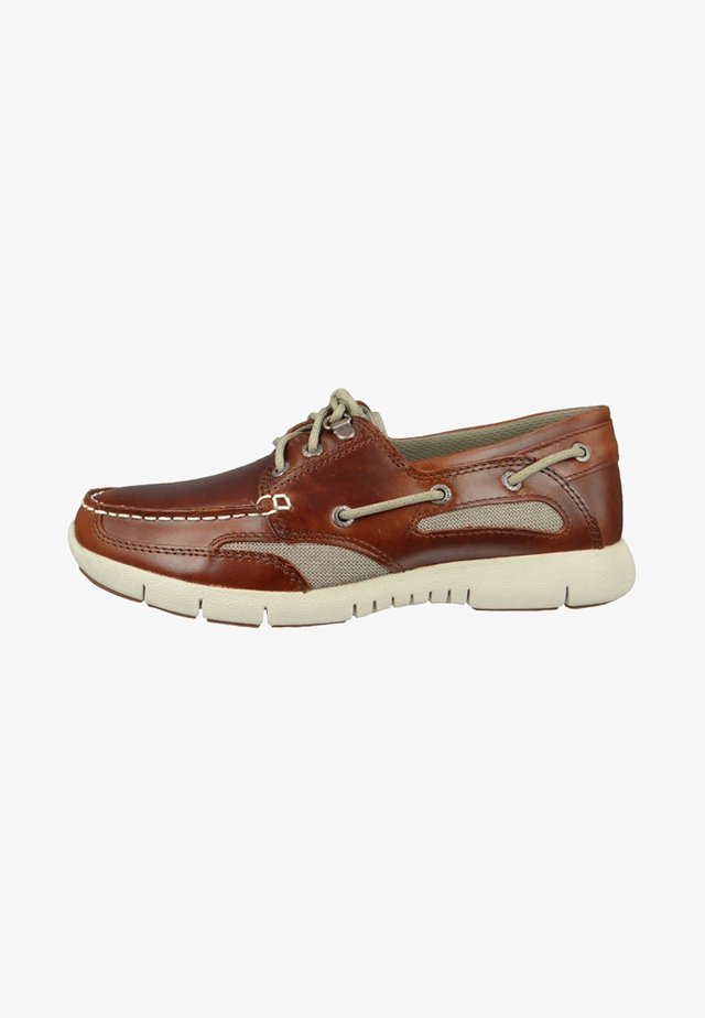 CLOVEHITCH LITE - Boat shoes - brown