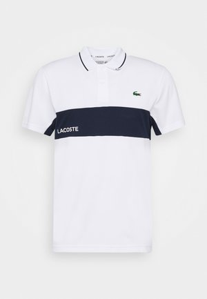 TENNIS  - Sports shirt - white/navy blue