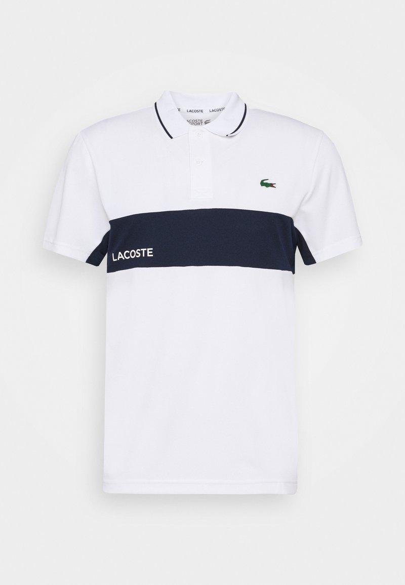 Lacoste Sport - TENNIS  - Sportshirt - white/navy blue
