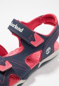 Timberland - ADVENTURE SEEKER 2 STRAP - Chodecké sandály - navy/pink - 5