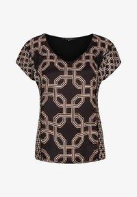 comma - Print T-shirt - black big chain - 5