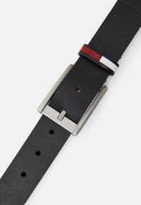 Tommy Jeans - FLAG INLAY BELT - Ceinture - black