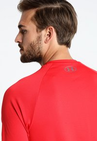 Under Armour - HEATGEAR TECH  - T-shirts print - red/graphite - 3