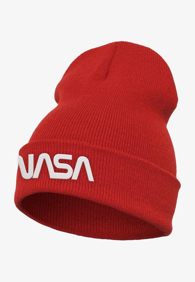 NASA WORM - Čepice - red