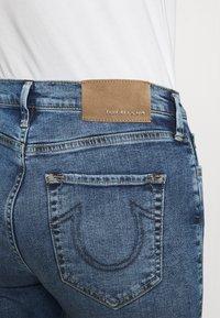 True Religion - HIGHRISE STRAIGHT LEG - Džíny Slim Fit - denim blue - 3