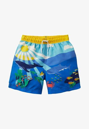 Swimming shorts - wasserblau, riffszene