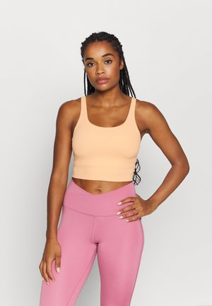 THE YOGA LUXE CROP TANK - Top - orange chalk/gelati