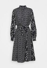 KARL LAGERFELD - FUTURE LOGO DRESS - Robe chemise - digital karl black - 6